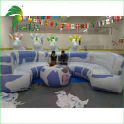 Giant Inflatable Sofa and Table