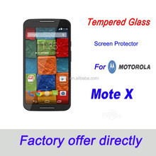 Curved edge premium tempered glass screen protector,9H-0.33mm-2.5d for MOTO X