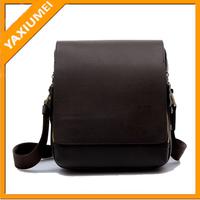 Wholesale genuine leather bag shoulder bag for men