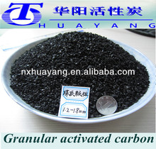 1.2-2.4MM anthracite coal granular activated carbon price