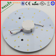 Fluorescent Office Ceiling Light Fan With LED Light