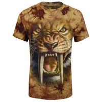 animal 3d printing design garment oem custom t shirt factory in china`