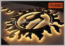 de acero inoxidable decorativa led de letras para hacer señales