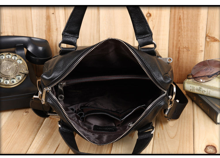 BOSTANTEN 100% GENUINE LEATHER Real Cowhide Shoulder Men's Bag Busines