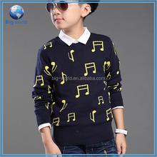 woolen Children Sweater Round Neck Pullover Sweater Designs For children