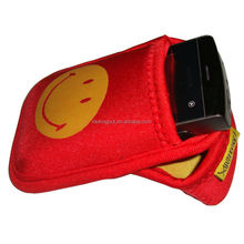 promotional brand name OEM neoprene mobile pouch