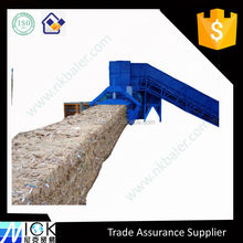 Brown Paper compressor with Hydraulic Baler