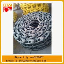 Pc360 excavadora tren de rodaje piezas pc360-7 la oruga de cadena