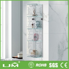 imported furniture china clear acrylic wall shelf design