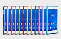 Love Mei Cheap Mobile Phone Bumper Case For Sony Z3,For Sony Z3 Screw Metal Bumper