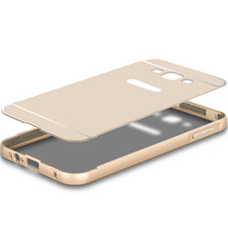 factory price metal bumper case for samsung galaxy j5, pc hard case for samsung galaxy j5 back cover