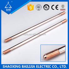 Types Of Copper Clad Steel Grounding Rod