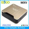 Android TV Box Amlogic S905 Quad Core MXV Plus wholesale android smart tv set top box
