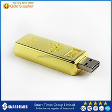 [Smart-Times] USB2.0 Flash Memory USB, Popular Golden USB Stick