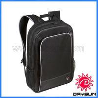 Wholesale leather trim economic laptop bag
