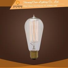 Retro lamp ST58 fairy tungsten edison bulb