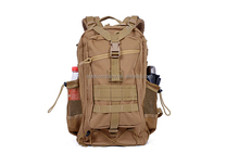 30L heavy duty 3P bag with mesh pouch military gear backpack waterproof tactical rucksack