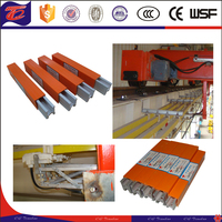 H type factory price aluminum rail used for hoist power supply made in China