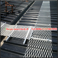 Expanded Metal Safety Grating /Expanded metal stair treads /Anti-slip Expanded Metal Walkway Mesh