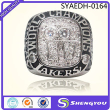 2001 Los Angeles Lakers Oneal Basketball Championship Ring Foundry Technology Custom Championship Ring