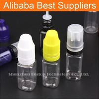 black color square glass bottle with cap bottle dispenser unicorn style ldpe plastic bottle