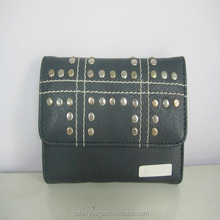 Designer Fashion Smart Rivet Wallet
