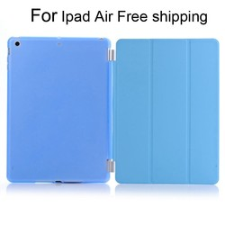 For iPad Air Free Shipping protective shookproof With Many colors PC+Pu 10 inch tablet pc leather case