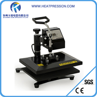 high quality A4 size t shirt sublimation heat transfer machine