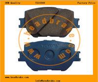 toyota crown OEM brake pads 04465-13030