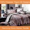 3 d bedding set ,latest bed sheet design, 3D comforter set