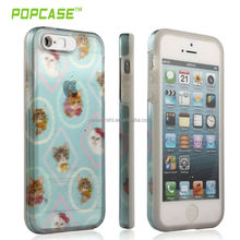 PC+Silicone led case for iphone 5