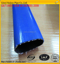 Flexible hose elastic lightweight pvc lay flat water hose pipe