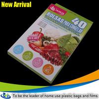Food grade fresh exotic fruits and vegetables plastic freezer bag storage freezer bag