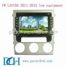 car dvd multimedia for volkswagen VW LAVIDA 2011-2012 low equipment WS-9166