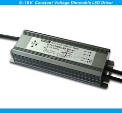 120w 24v 0-10V constant voltage dimmable led driver dimming led driver waterproof dimming led driver