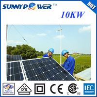 10kw pv solar power system industry solar system generator with factory direct price engineered ground solar mounting system