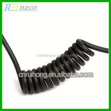 Extremely flexible PVC spiral cable sub-assy clock spring airbag