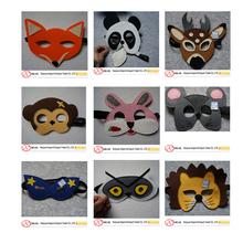 Hot sale !!! Various designs felt animal mask for kids