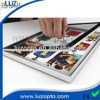 LED magnetic light Box, magnetic restaurant menu board,single sided led magnetic light box menu board