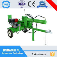 Horizontal Type 10ton electric log splitter In Hot Sale!
