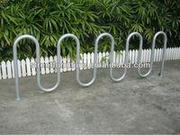 Hot-dipped galvanized portable bike carrier racks floor bike rack