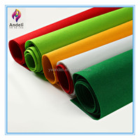 wholesale 1mm Eco-friendly color felt 100 polyester fabric