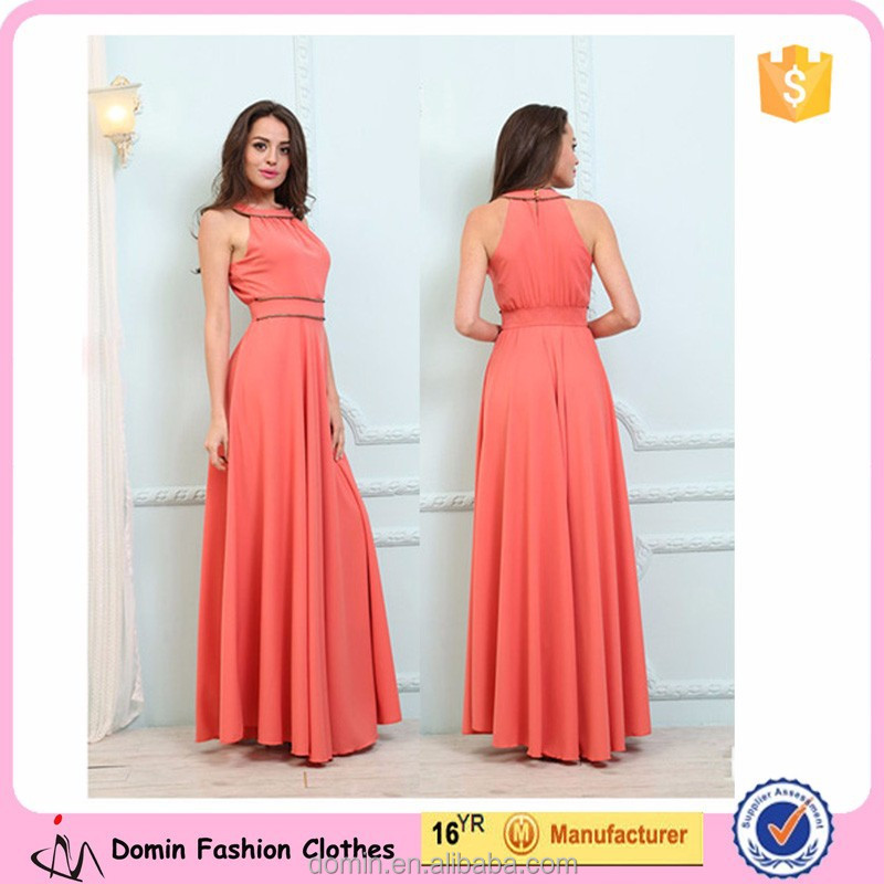 New Design Fashion Long Maxi Dress Ladies 2015 Women