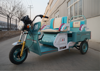 Indian battery operated electric passenger auto rickshaw
