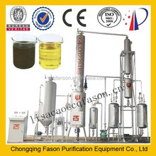 High tech good performance competitive price lube oil recycle ( Black Oil To Yellow)