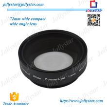 Hot Universal Clip Cell 72mm 0.8X Super Wide Angle Lens Smart External Lens for Camera Lens
