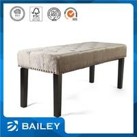 2015 Latest Fancy Design Furniture Supplier Bedroom Indoor Bench Seat With Storage