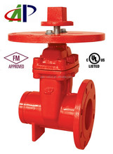 CHEAP AND HIGH QUALITY UL FM NON-RISING STEM GATE VALVE WITH ROUNG PLATE