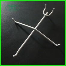 Pegboard/slatwall glasses display hook