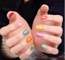 non wrinkle uv gel gel nail polish with 390colors